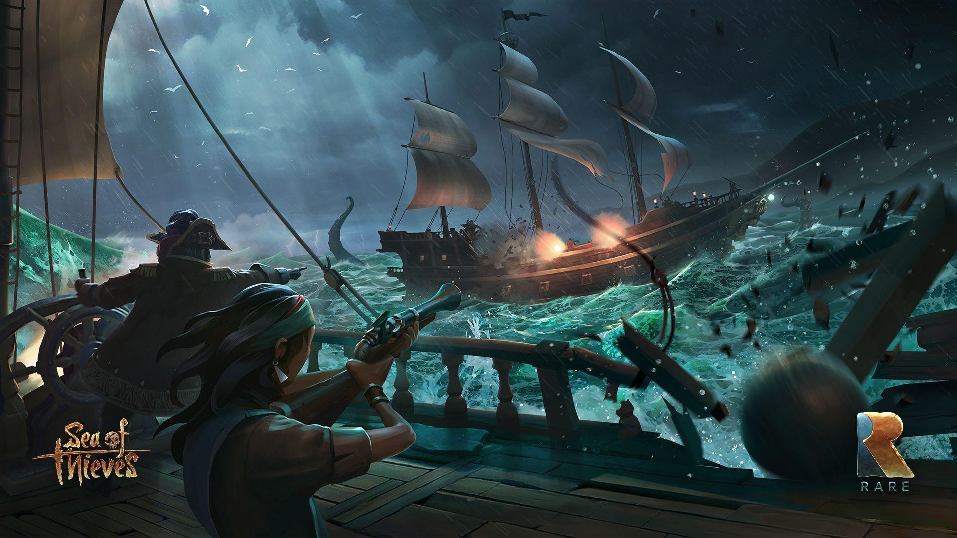Sea of Thieves Konusu;