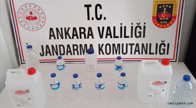 Ankara Asayiş Haberi: Ankara'da sahte içki üretip satan şüpheli gözaltına alındı