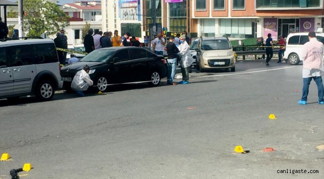 Esenyurt'ta taksi durağında silahlı kavga: 2 ölü
