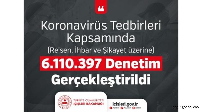 İçişleri Bakanlığı yurt ve pansiyonlarda kalanların sayısını açıkladı