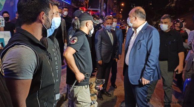 """İstanbul Emniyet Müdürü Zafer Aktaş """"Yeditepe Huzur"""" asayiş uygulamasına katıldı"""