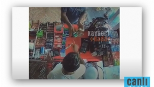 Kayseri Haberi: Tırnakçılar iş başında kameralara yakalandı!