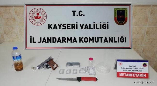 Kayseri Son Dakika Asayiş Haberi: İl Jandarma Komutanlığından Uyuşturucu Operasyonu