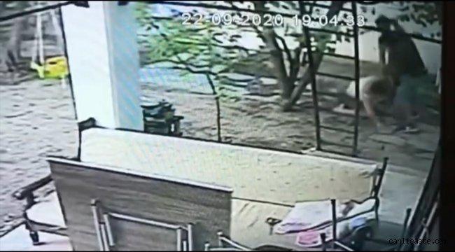 Muğla Asayiş Haberi: Muğla'da kadının darbedilmesi güvenlik kamerasına yansıdı