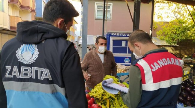 Ağrı'da koronavirüs karantinasına uymayan 3 kişiye para cezası