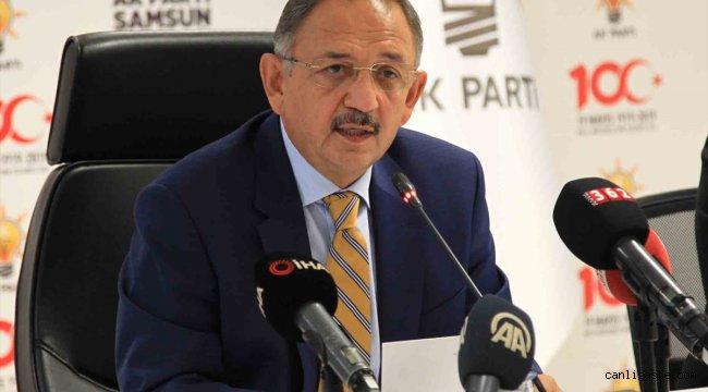AK Partili Özhaseki, Samsun'da konuştu: Bu coğrafya zayıf devlet kaldırmıyor