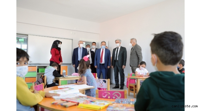 Başkan Yalçın'dan Başakpınar'da eğitime bir katkı daha