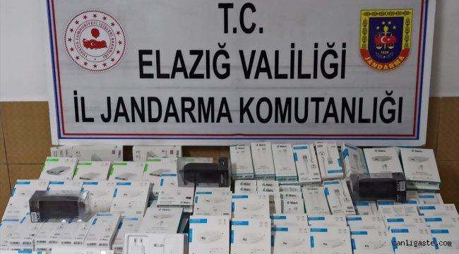 Elazığ Asayiş Haberi: Elazığ'da kaçakçılık operasyonu, 2 gözaltı