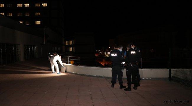 Erzincan'da hastaneden kaçmak isterken balkondan düşen Kovid-19 hastası ağır yaralandı
