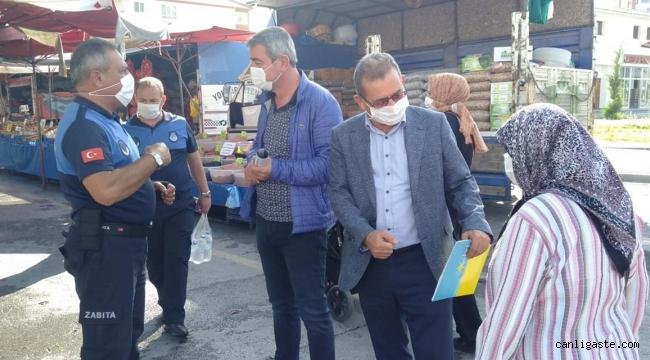 İktidar gibi çalışan muhalefetin en iyi temsilcisi Kazım Yücel: Yakut Mahallesine acilen pazar yeri yapılmalı