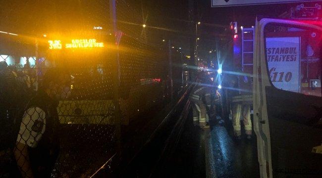 İstanbul'da metrobüs kazası! 7 kişi yaralandı