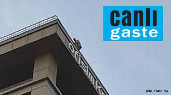 Kayseri'de aynı binanın teras katında ikinci intihar vakası! (VİDEOLU HABER)