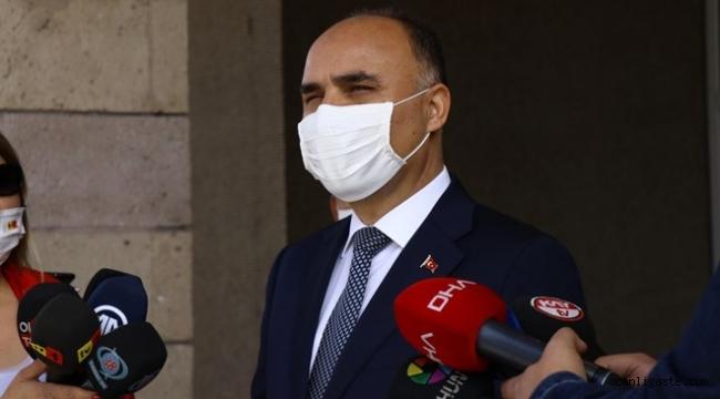 Kayseri patlamasının failinin yakalanmasının ardından Vali Günaydın açıklama yaptı