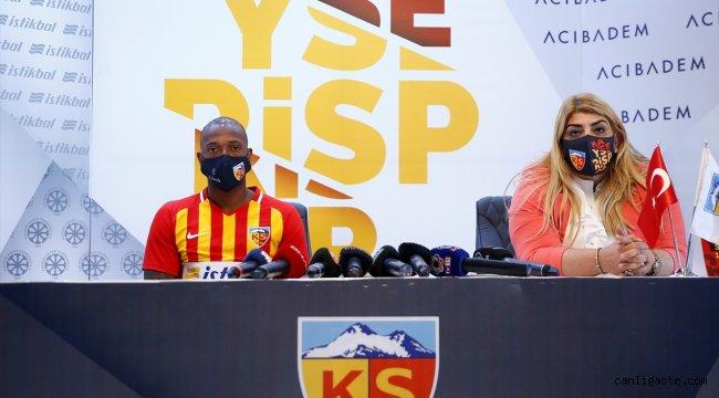 Kayserispor, Manuel Fernandes'le sözleşme imzaladı