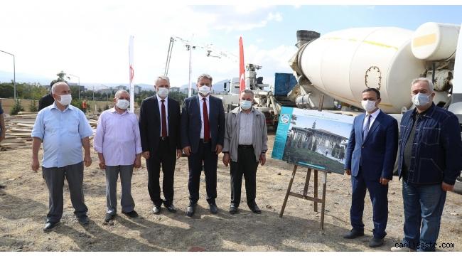 Melikgazi Belediyesinden en anlamlı temel atma, Camiler Haftasında Erü'ye cami temeli atıldı