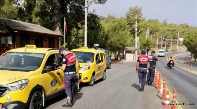 Muğla'da Kovid-19 tedbirlerine uymayanlara 23 bin 850 lira ceza kesildi