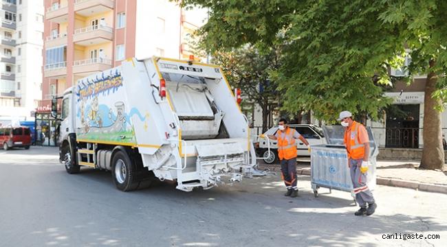 Talas Haberi: Çöp konteynerlerinde kötü kokuya son