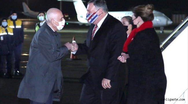 ABD Dışişleri Bakanı Pompeo Gürcistan'da