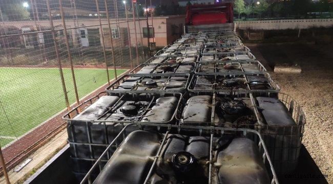 Afyonkarahisar'da 27 bin litre kaçak akaryakıt ele geçirilen tırdaki iki kişi gözaltına alındı