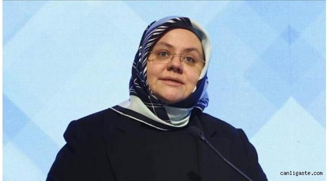 Aile, Çalışma ve Sosyal Hizmetler Bakanı Zehra Zümrüt Selçuk, Kovid-19 testinin pozitif çıktığını açıkladı