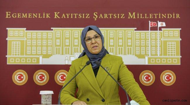 AK Partili Katırcıoğlu HDP'yi, dağa kaçırılan çocuklarla ilgili sessiz kalmakla eleştirdi