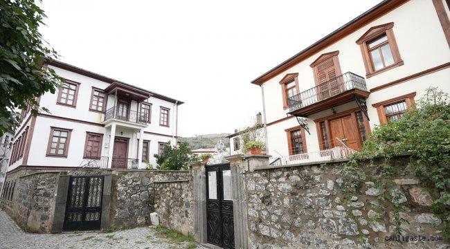 Altın oranlı Zeytinlik evleri DOKA ile yeniden hayat buldu