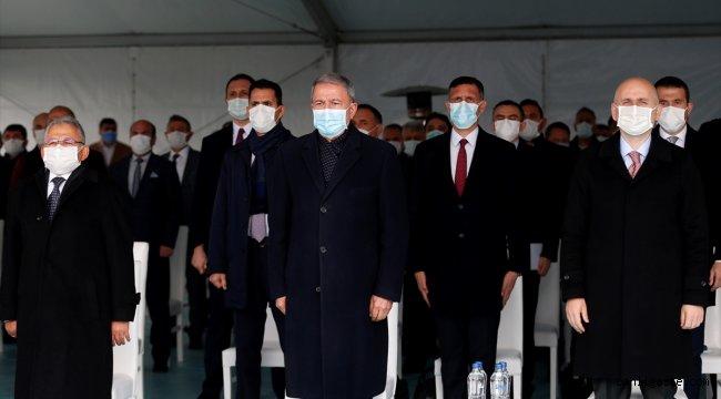 Kayseri'de Anafartalar-Şehir Hastanesi-YHT Garı Tramvay Hattı Temel Atma Töreni