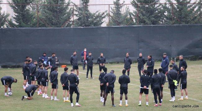 Atakaş Hatayspor'da Çaykur Rizespor maçı hazırlıkları