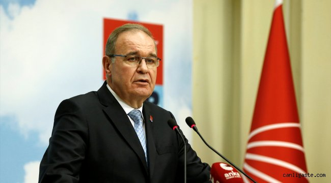 CHP Genel Başkan Yardımcısı ve Parti Sözcüsü Faik Öztrak: Türkiye'den derhal özür dilenmeli