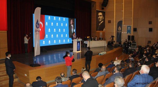 DEVA Partisi Genel Başkanı Babacan, partisinin Sinop İl Kongresi'ne katıldı