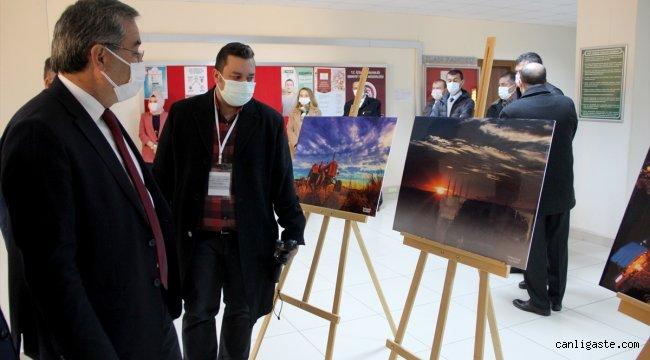 """Edirne'de """"o anı"""" yakalayan öğretmenlerin fotoğrafları sergide buluştu"""