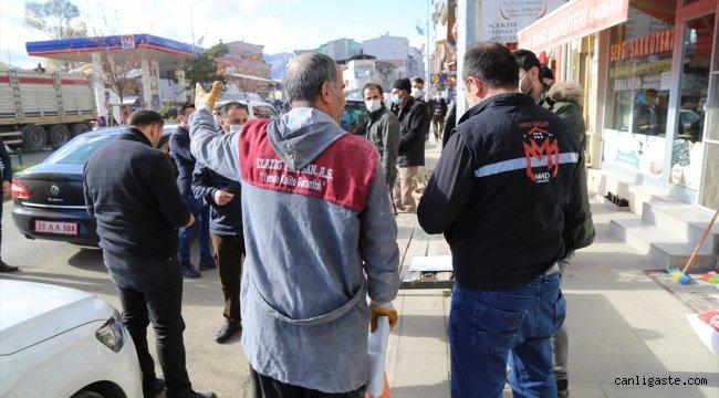 Erzurum'da karantina ihlali yapan 25 kişiye para cezası