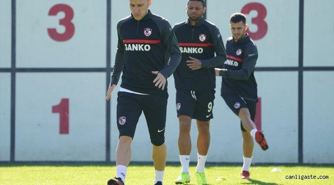 Gaziantep FK kupa mesaisine başladı