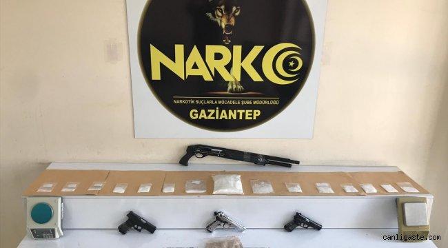 """Gaziantep'te 24 saat süren """"Narko-Şahin-27 operasyonu"""" tamamlandı"""