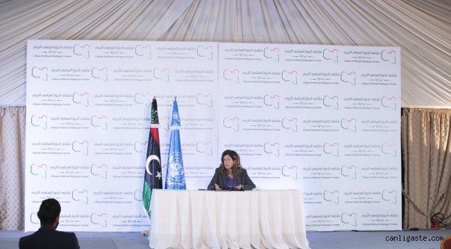 GÜNCELLEME - Libya Siyasi Diyalog Forumu, uzlaşı çıkmaması nedeniyle gelecek haftaya ertelendi