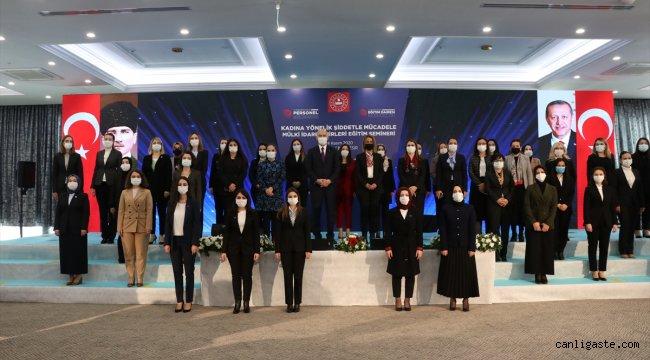 """İçişleri Bakanı Soylu """"Kadına Yönelik Şiddetle Mücadele Semineri""""nde konuştu: (2)"""