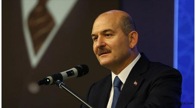 İçişleri Bakanı Süleyman Soylu: Bu topraklarda bir tek terörist kalmayacak. Allah'a yemindir, size de yemindir, namus sözüdür, şeref sözüdür