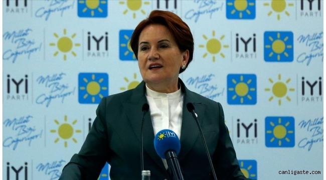 """İYİ Parti Genel Başkanı Akşener:""""Biz 40 kişiyiz bu siyasette, herkes birbirinin ciğerini bilir''"""