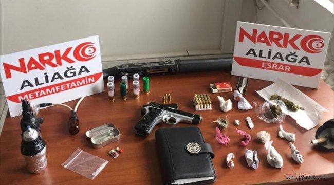 İzmir'de uyuşturucu ticareti yapan zanlı tutuklandı