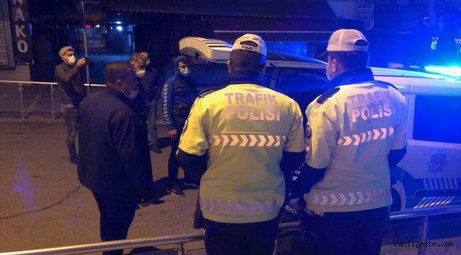 Kahramanmaraş'ta sokağa çıkma kısıtlamasını ihlal eden 3 kişiye işlem yapıldı