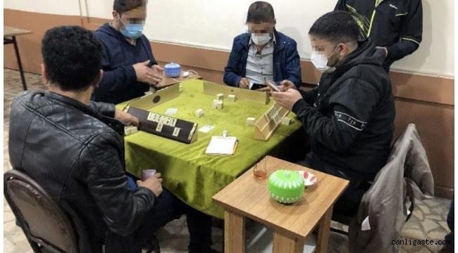 Karantina Kuralına Uymayan Vatandaş Kahvehanede Yakalandı
