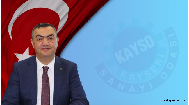 Kayseri Sanayi Odası Başkanı Büyüksimitci'nin Kovid-19 testi pozitif çıktı