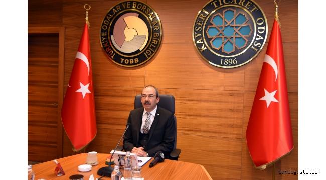 Kayseri Ticaret Odası Başkanı Gülsoy: Yeni ekonomik stratejide güven ve istikrar önceliğimiz olmalı