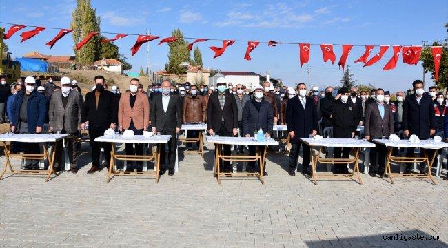 """Kırıkkale'de """"En Güzel Köy Benim Köyüm Projesi"""" devam ediyor"""