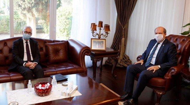 KKTC Cumhurbaşkanı Tatar, Alman Büyükelçi Kremp'i kabul etti
