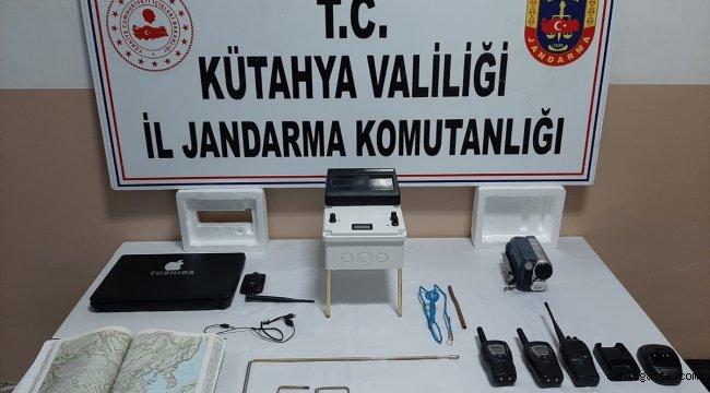 Kütahya'da definecilere operasyon: 10 şüpheli yakalandı