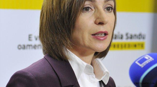 Moldova'da Batı yanlısı Maia Sandu ilk kadın cumhurbaşkanı oldu