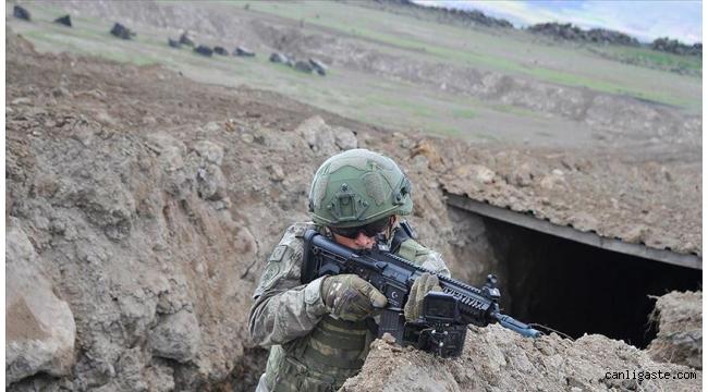 MSB: Barış Pınarı bölgesine sızmak için tünel kazan 8 terörist etkisiz hale getirildi