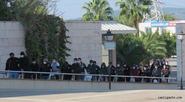Osmaniye'de terör örgütü DEAŞ'a yönelik operasyon: 18 şüpheli gözaltında