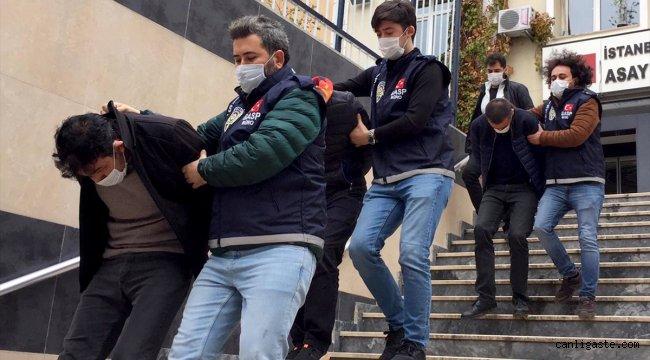 İstanbul Sancaktepe'de kuyumcu soyup iş yeri sahibini yaralayan 4 şüpheli tutuklandı